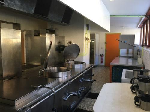 cuisine salle des fetes du pontet